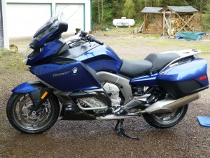 2013 K1600GT Montego Blue