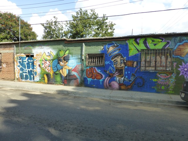 Mural on the Wall